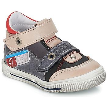 Schuhe Jungen Sneaker Low GBB PEPINO Grau-jeans / Dpf / Schwarz / weiss / gold