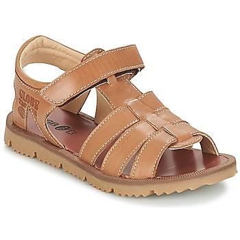 Schuhe Jungen Sandalen / Sandaletten GBB PATHE Braun / Dpf / Lisbonna