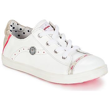 Schuhe Mädchen Sneaker Low Catimini PANDA Weiss / Dpf / Venus