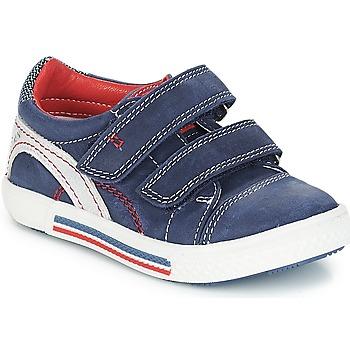 Schuhe Jungen Sneaker Low Catimini PERRUCHE Nus / Blau-rot / Dpf / Grau / weiss / grün