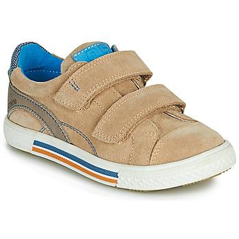 Schuhe Jungen Sneaker Low Catimini PERRUCHE Beige