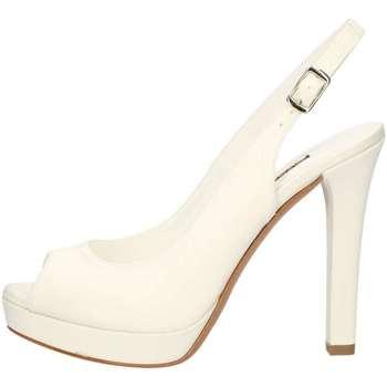 Schuhe Damen Sandalen / Sandaletten Albano 1528A WEISS
