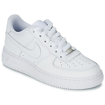 Schuhe Kinder Sneaker Low Nike AIR FORCE 1 Weiss