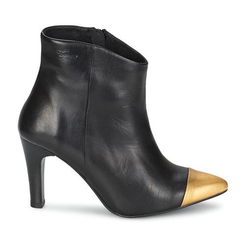 Pastelle ARIEL Schwarz-gold Damen  Schuhe Low Boots Damen Schwarz-gold 118,30 9926d8