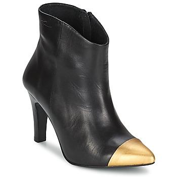 Stiefelletten / Boots Pastelle ARIEL Schwarz-Gold 350x350