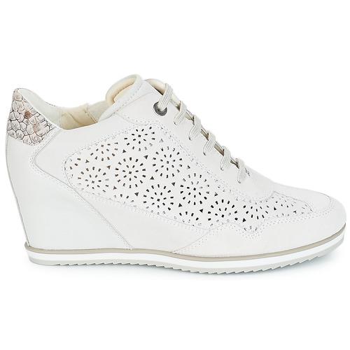Geox D ILLUSION Weiss Schuhe Sneaker High Damen 87 87 Damen c9b0e4