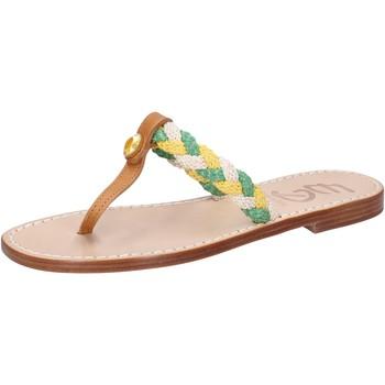 Schuhe Damen Sandalen / Sandaletten Eddy Daniele sandalen mehrfarben leder corda ax790 mehrfarben