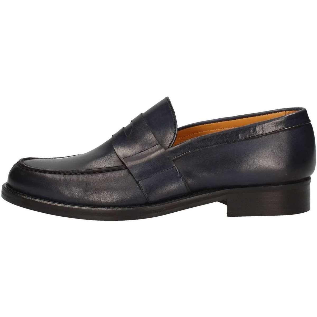 Hudson F08 Mokassin Mann Blau Blau - Schuhe Slipper Herren 112,10 €