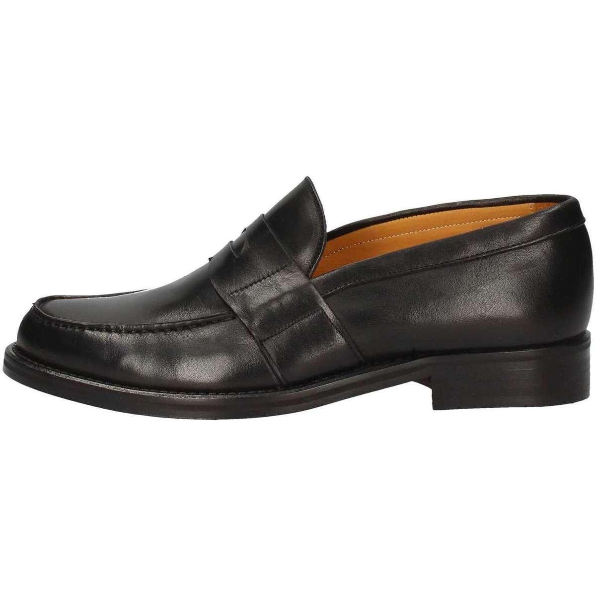 Hudson F08 Mokassin Mann Schwarz Schwarz - Schuhe Slipper Herren 112,10 €