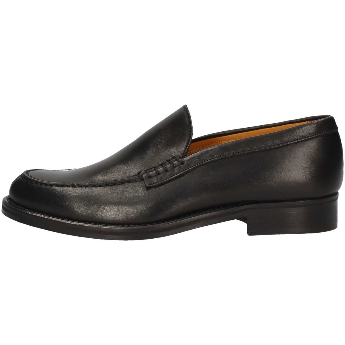 Hudson F06 Mokassin Mann Schwarz Schwarz - Schuhe Slipper Herren 112,10 €