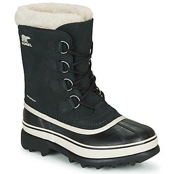 Schuhe Damen Schneestiefel Sorel CARIBOU Schwarz