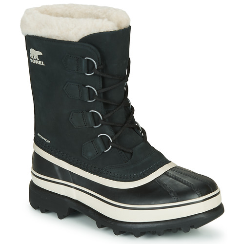 Sorel CARIBOU Schwarz Schuhe Schneestiefel Damen 169,99