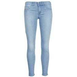 Kleidung Damen Slim Fit Jeans Diesel LIVIER ANKLE Blau