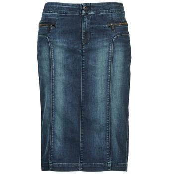 Kleidung Damen Röcke Diesel DE-TRENKER Blau
