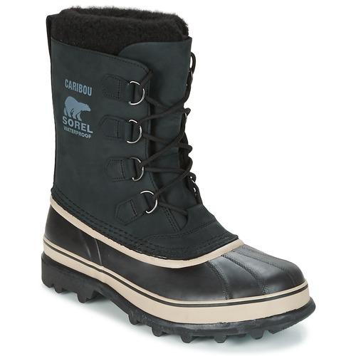 Sorel CARIBOU Schwarz  Schuhe Schneestiefel Herren