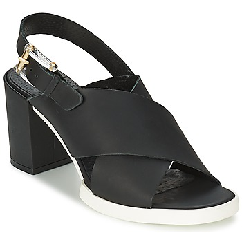 Schuhe Damen Sandalen / Sandaletten Miista DELILIAH Schwarz