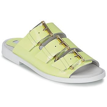 Schuhe Damen Pantoffel Miista EMMIE Gelb