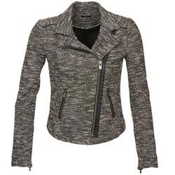 Kleidung Damen Jacken / Blazers Ikks VERMILLION Schwarz