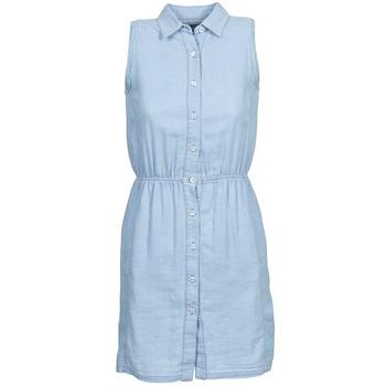 Kleidung Damen Kurze Kleider Gant O. INDIGO JACQUARD Blau