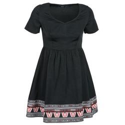 Kleidung Damen Kurze Kleider Eleven Paris NANA Schwarz