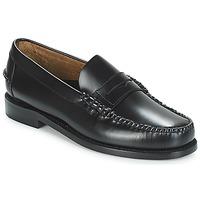 Schuhe Herren Slipper Sebago CLASSIC PENNY BRUSHED Schwarz