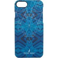 Taschen Handytasche Devid Label GEOMETRIC IPHONE CASE | BLU |  | CVGEBL bleu