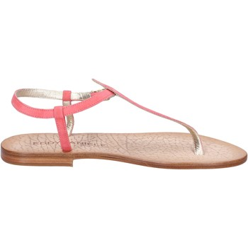 Schuhe Damen Sandalen / Sandaletten Eddy Daniele sandalen pink wildleder ax914 pink