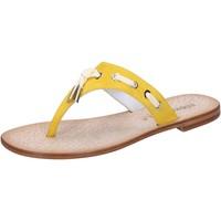 Schuhe Damen Sandalen / Sandaletten Eddy Daniele sandalen gelb wildleder aw322 gelb