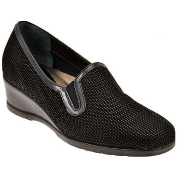 Schuhe Damen Slipper Confort Lux mit Elastic mokassin halbschuhe