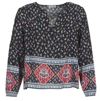 Kleidung Damen Tops / Blusen Casual Attitude WASAS Schwarz / Multifarben