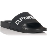 Schuhe Herren Pantoletten D.Franklin 17517 Schwarz