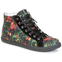 Schuhe Damen Sneaker High Love Moschino JA15132G0KJE0000 Schwarz / Multifarben