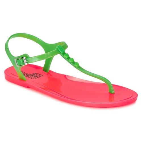Schuhe Damen Sandalen / Sandaletten Love Moschino JA16381G0KJN180A Grün / Rose