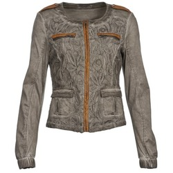 Kleidung Damen Jacken / Blazers Cream SPORTY Maulwurf