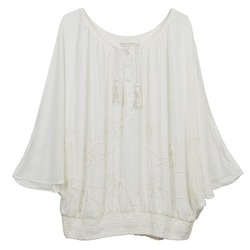 Tops / Blusen Cream DREY