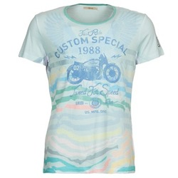 Kleidung Herren T-Shirts Gaudi ABHIJVALA Blau