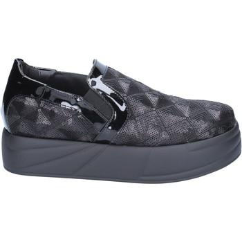 Schuhe Damen Slip on Jeannot BX129 schwarz