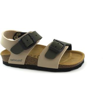 Schuhe Kinder Sandalen / Sandaletten Grunland GRU-CCC-SB0901-b-BO Beige