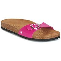 Schuhe Damen Pantoffel Casual Attitude CHASTO Fuchsienrot