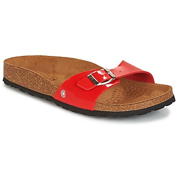 Schuhe Damen Pantoffel Casual Attitude CHASTO Rot
