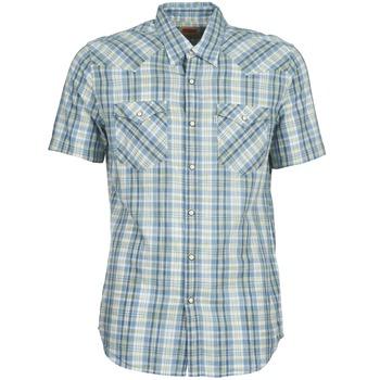 Kleidung Herren Kurzärmelige Hemden Levi's WOVENS Blau