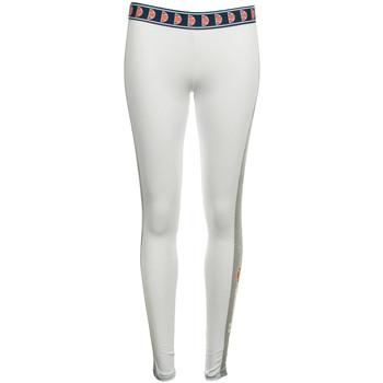 Kleidung Damen Leggings Ellesse Femme Legging Blanc Weiss