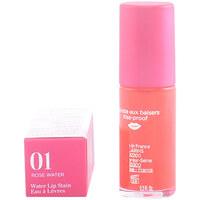 Beauty Damen Gloss Clarins Water Lip Satin Eau À Lèvres 01-rose Water