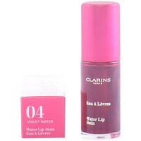 Beauty Damen Gloss Clarins Eau À Lèvres 04-violet Water  7 ml