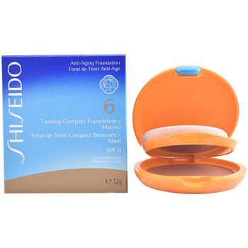 Beauty Damen Make-up & Foundation  Shiseido Tanning Compact Foundation Spf6 honey 12 Gr 12 g