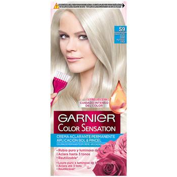 Beauty Haarfärbung Garnier Color Sensation s9 Rubio Platino Ceniza 1 u