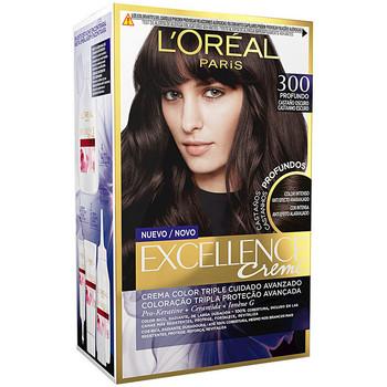 Beauty Damen Accessoires Haare L'oréal Excellence Brunette Tinte 300-true Dark Brown