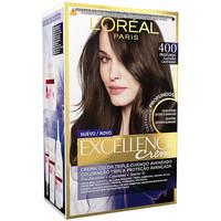 Beauty Damen Accessoires Haare L'oréal Excellence Brunette Tinte 400-true Brown