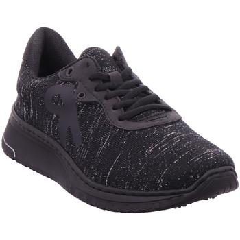 Schuhe Damen Sneaker Low Rieker - N5010-01 schwarz-silber/schwarz/sc 01