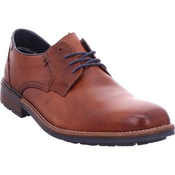 Schuhe Herren Richelieu Rieker - B1321-25 nut/pazifik 25